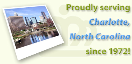 Proudly serving Charlotte, North Carolina since 1972!